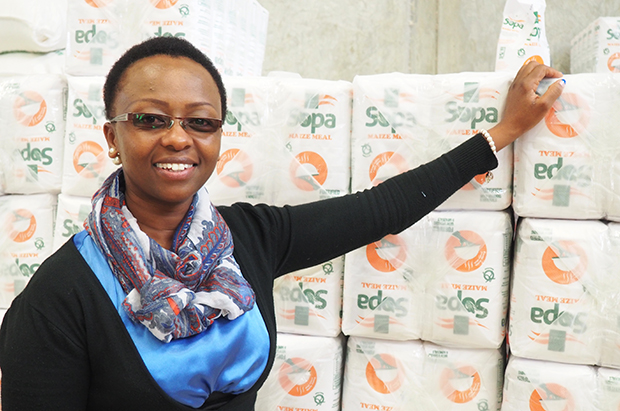 Pauline Kamau, Managing Director of Sopa Supplies